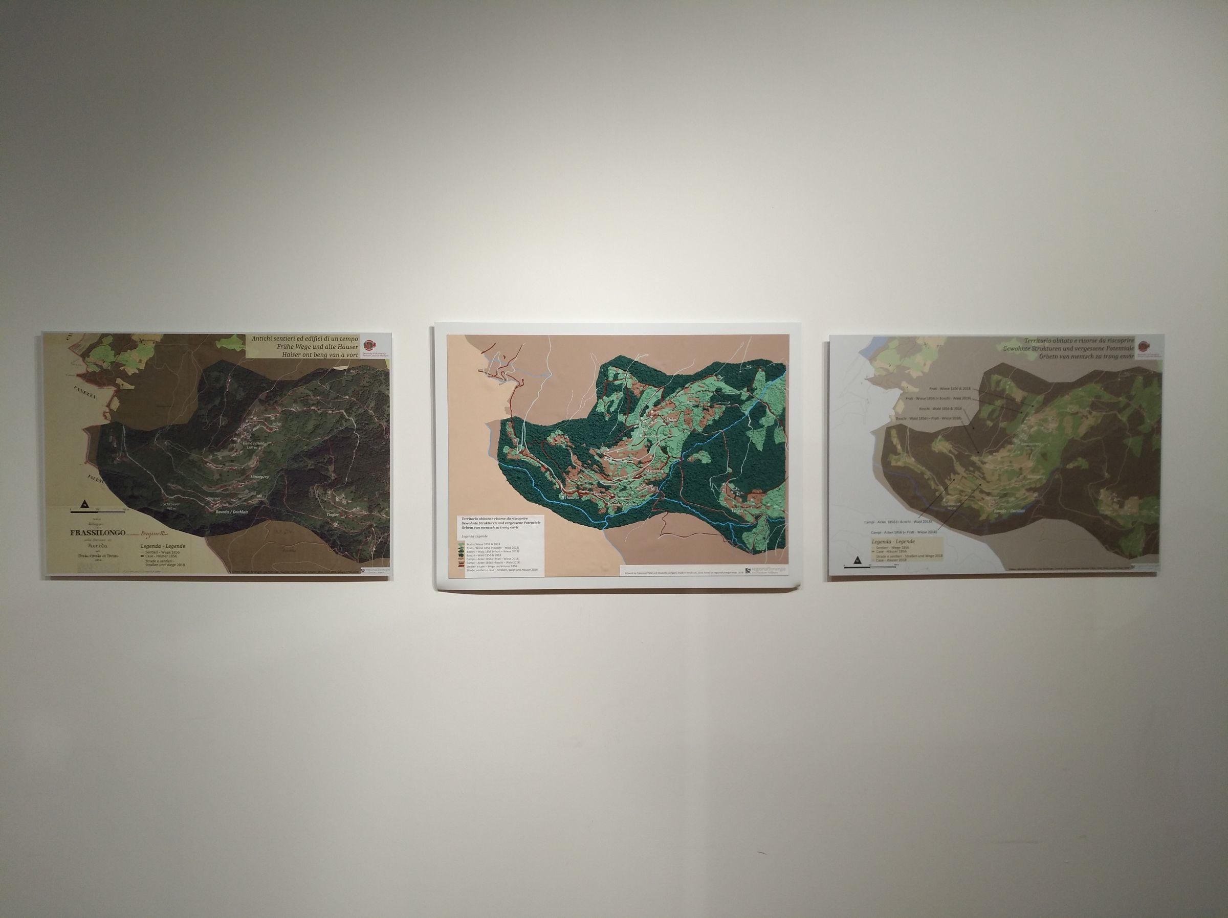 Die Karten im Überblick